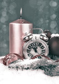 New Year count down, toned image — Stock Photo