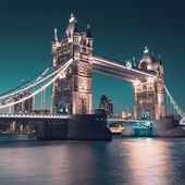 Tower bridge in London — 图库照片