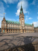 Hamburg City Hall — Stockfoto