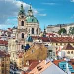 St. Nicolas church in Prague — Stock Photo #47929911