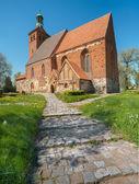 St. Mary's church in Brandshagen — Stockfoto