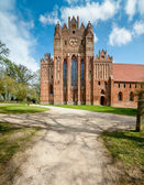 Chorin Abbey in Germany — Stock Photo