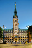 Town Hall in Hamburg — Stock Photo