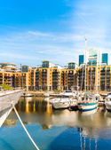 St. Katarine docks in London — Stock Photo