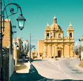 Church in Haz-Zebbug, Malta — Stock Photo