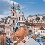 St. Nicolas church in Prague — Stock Photo #51519105