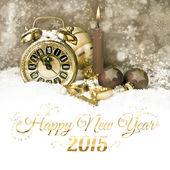 Nový rok countdown — Stock fotografie