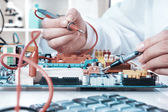 Electronics repair service — Foto Stock