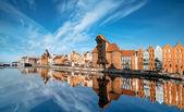 Cityscape of Gdansk — Stock Photo