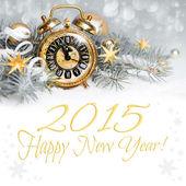 Mutlu yeni yıl 2015 — Stok fotoğraf