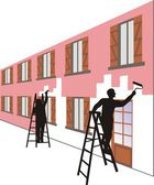 Exterior paint — Stock Photo