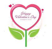 Happy Valentine Day Vector Design — Stock Vector
