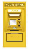 ATM Cash Machine — Stock Vector