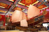 Ibn-e-Batoota Ship — Stock Photo