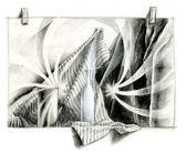 Dibujo en la composición — Foto de Stock