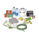 Emergency kit — Stock Photo
