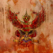 Garuda, Thai mythology eagle or bird — Stock Photo