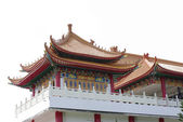 Chinese temple architecture — Stock Photo