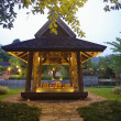 Thai pavilion in resort — Foto Stock