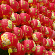 Red chinese lanterns — Foto de Stock