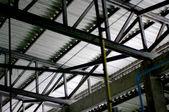 Dachkonstruktion — Stockfoto
