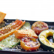 Grill vegetable isolated — Stock fotografie