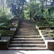 Stock Photo: Stone stair to ancient buddhist temple