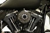 Roboter-mechanische motor-hintergrund — Stockfoto