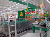Hypermarket, Tesco Lotus in Thailand — Стоковое фото