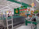 Hypermarket, Tesco Lotus in Thailand — 图库照片
