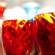 Colorful glasses background — Foto Stock