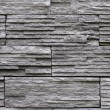 Slate stone stack wall texture — Stock Photo
