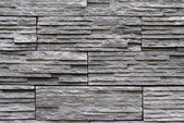 Slate stone stack wall texture — Stockfoto