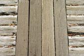Wood plank bridge texture — Stock Photo