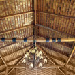 Wood roof ceiling — Stock Photo