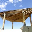 Stock Photo: Gazebo roof