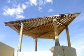 Gazebo roof — Stock Photo