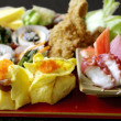 Japanese food set — Stock Photo