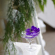 Wedding flower decor — Stock Photo