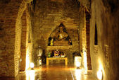 Temple tunnel light, enlightenment concept — Stok fotoğraf