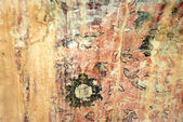 Ancient art wall painting texture background — Stock Photo