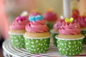 Cupcakes tier — Stock Photo