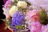 Flower decoration for wedding background — Stock Photo