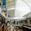 Open space shopping mall, department store atrium — Stok Fotoğraf #38495387