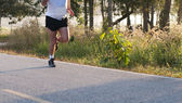 Runner in the morning — Stock Photo
