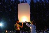 Lantern festival thajsko — Stock fotografie