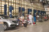Car auto shop — Stock Photo