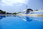 Olympic Swimming and diving Pool — Stock Photo