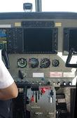 Air plane console — Stock Photo