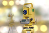 Construction and engineering tool, total station — Stock Photo